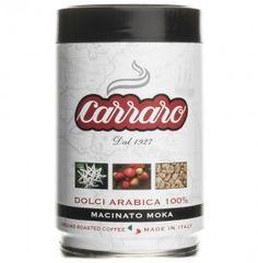 Kawa mielona Carraro Dolci Arabica, puszka 250g
