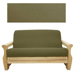 Elegant Ribbed Coco Futon Cover Loveseat Ottoman 632 by SlipcoverShop. $45.00. See Sizing and Product Description below. In Stock - Ships within 2 days. Made for futon mattress measuring 21 inches long and 54 inches wide. This futon  cover is used for ottoman portion or extension piece of loveseat cushion. This futon cover features 3 sided, concealed zipper construction and fit futon cushions up 8 inches thick. Elegant Ribbed Coco fabric is simply beautiful. Made of tightly wo...
