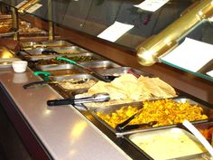Swapna Indian Restaurant - buffet only at lunch time.  The best Indian food around.