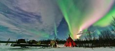 Chasing the Northern Lights across Finnish Lapland