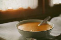 vegan pumpkin spiced soup
