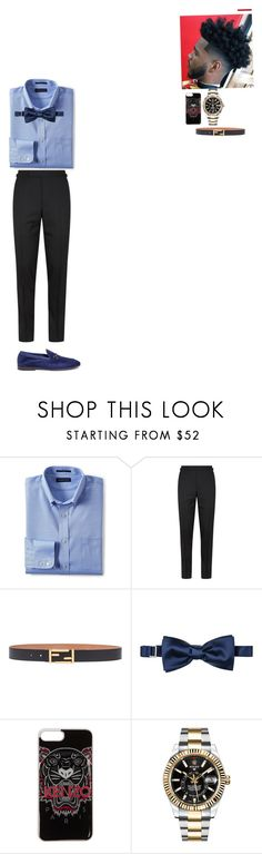 """O.C.👕"" by xxliyah ❤ liked on Polyvore featuring Lands' End, Tom Ford, Fendi, La Perla, Kenzo, Rolex, Henderson, men's fashion and menswear"