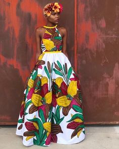 Chitenge outfits - African fashion can be seen in chitenge designs for ladies, men and children. From chitenge dresses, chitenge tops to chitenge tops Ankara Dress Styles, African Print Dresses, African Fashion Dresses, African Dress, Fashion Outfits, Ankara Fashion, African Prints, African Clothes, Fashion Ideas