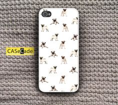 Dog Pug Puppy Phone Cases for iPhone 4/4s, iPhone 5/5s/5c, Samsung Galaxy S3