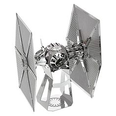 f0dd2558b9d Star Wars  The Force Awakens First Order TIE Fighter Metal Earth Model   16.95 Metal Model