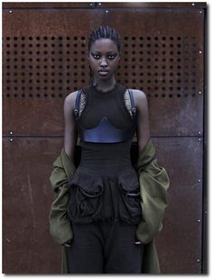 Zimbabwe-born model Nyasha Matonhodze appears in a fashion feature for a recent issue of SCMP Style Magazine