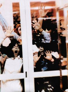 Just another day at the mall in Dawn of the Dead (1978, dir. George A. Romero)
