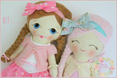 Dress Up Doll from Precious Little Poppets