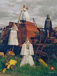 visual optimism; fashion editorials, shows, campaigns & more!: made in britain: kate, rosie, charlotte, karen, sam, edie, stella, malaika an...