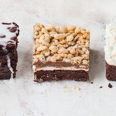 Marshmallow crunch brownie