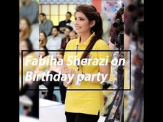 Fabiha Sherazi on Birthday Party Looking Hot