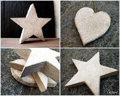 DIY cement decoration