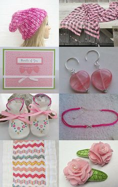A Touch of Pink by Alice Wisler on Etsy--Pinned with TreasuryPin.com