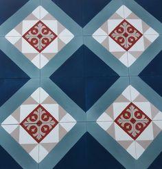 Tiles in progress en direct de l'atelier... Des carreaux de ciment travaillés sur-mesure pour un projet dirigé par Space Factory ! Vivement leur arrivée en France ! #carreauxdeciment