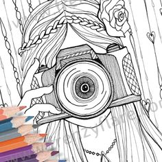 httpcoloringscocamera coloring pages Pages Coloring