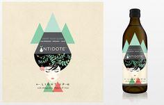 Antidote Cold-Pressed Juice via @thedieline