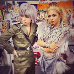 #HYDE with Aki(SID) #VAMPS #VAMPSHalloweenParty2015 MAKUHARI - Day 3 (October 25, 2015)