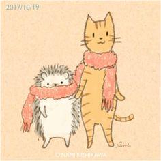 1310 マフラー a scarf ぶるぶる、寒い。
