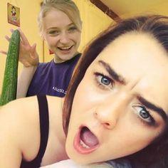 2 Girls have fun with cucumber #ardelllashes #makeupartist #lipstolashes #themakeupeye #bocaraton #fiercesociety #plum #deerfieldbeach #wakeupandmakeup #hudabeauty #edgy #browneyes #mua #anastasiabeverlyhills #browsonpoint #nofilter #instagram #steampunkgirls #steampunkstyle #twitter #oregon #steampunkjewelry #facebook #couture #instagirls #portland #alchemydivinecouture #usa #photographer #girltime