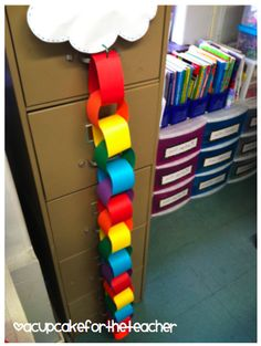 """compliment chain - maybe change into """"catching kindness"""" or something to show when a music student does great creativity or critical thinking. maybe they can put their name or what they did and attach during class - immediate reinforcement of positive behavior"""