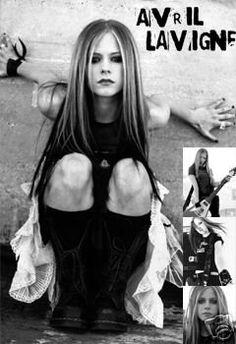 Avril Lavigne Poster Black and White Collage HOT NEW - Avril Lavigne Clothes.