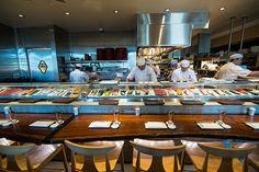 Inside Iron Chef Morimoto's restaurant in Napa