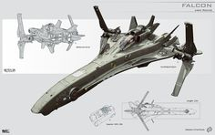 concept ships: Spaceship concepts by KaranaK