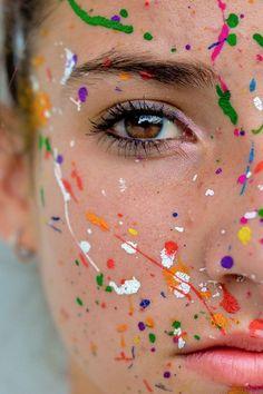 Paint Photography, Creative Portrait Photography, Portrait Photography Poses, Photography Poses Women, Tumblr Photography, Artistic Photography, Photography Composition, Inspiring Photography, Woman Photography