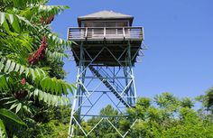 Fryingpan Mountain Lookout Tower, North Carolina, Asheville