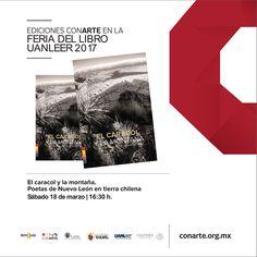 #LETRASconarte Hoy tienes una cita con la poesía regia! [16:30h . Colegio Civil] #EstoEsCONARTE