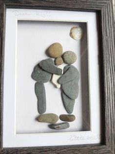 Bespoke pebble art pictures