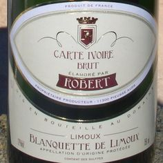 Brut Ivoire - Blanquette Limoux-of-  Robert GFA - 750 ml