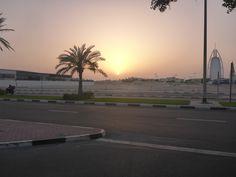 De zonsondergang bij Burj al Arab #sunset  #BurjalArab  #Dubai