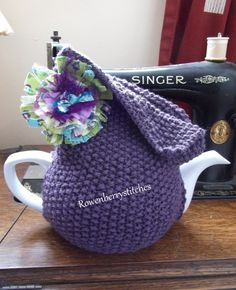 ❥Crochet Tea Cosies, Mug Hug Snugs and Cuppa Cosies.    tea-cosy