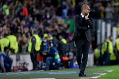 Guardiola City seek Barcelona revenge   Paris (AFP)  Stung by a chastening 4-0 defeat at the Camp Nou two weeks ago Manchester City manager Pep Guardiola makes a second attempt to outwit his former club Barcelona in the Champions League on Tuesday.  Guardiolas men were undone by the second-half dismissal of goalkeeper Claudio Bravo on October 19 when Lionel Messi scored a hat-trick to propel his side five points clear of City at the Group C summit.  Another defeat would give Borussia…