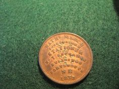 RARE 1837 MARCH/ SIMES AND CO, NH HARD TIMES TOKEN
