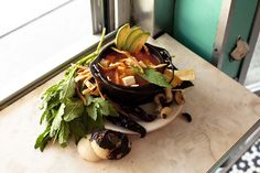 Tortilla soup FTW. http://www.thecoveteur.com/salsa-recipe-la-esquina/