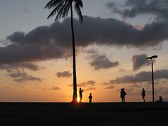 beautiful Hawaii sunset by www.hawaiifisheye...