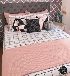 Home Room Design, Pink Bedroom Design, Room Ideas Bedroom, Kids Bedroom Inspiration, Stylish Bedroom, Bedroom Inspirations, Diy Girls Bedroom, Cute Room Decor, Bedroom Layouts