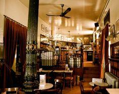 Café del Nuncio, Barrio de los Austrias, Madrid, España.