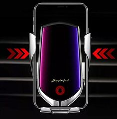 Automatic Clamping Qi Wireless Car Charger Mount Air Vent Cell Phone Holder | G-mart Phone Charging Holder, Air Vent Phone Holder, Fitness Tracker, Handy Gadgets, Usb, Smartphone, Detoxify Your Body, Car Mount Holder, Autos