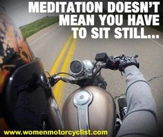 Meditation doesn't mean you have to sit still...