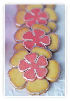 """Cupcakes a diario: Silver primrose cookies o galletas de canela y vainilla con """"pespunte"""" plata"""