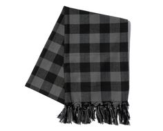 SOPHNET. THERMOLITE FLANNEL CHECK STOLE