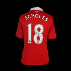 Paul Scholes Manchester United Signed Jersey by Icons. $399.99. This Manchester United home jersey was personally signed by Paul Scholes in an exclusive signing session with the Man Utd legend in Manchester in 2011.Paul is the ultimate one-club man, and a real fans' favourite.The signed United jersey would make a perfect gift for any Man U fan.