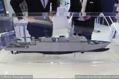 At NAVDEX 2015 Navantia unveiled its F-538 Frigate Design for the Peruvian Navy