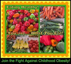 Fruits and veggies...yum!