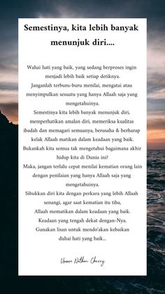39 Ideas for quotes indonesia motivasi Best Advice Quotes, New Quotes, Funny Quotes, Allah Quotes, Muslim Quotes, Qoutes, Reminder Quotes, Self Reminder, Strong Relationship Quotes