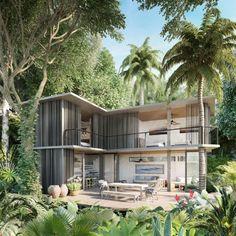 Ao centro de cada residência será plantada uma árvore, que deve crescer ao longo do tempo
