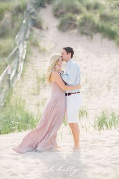 lake michigan beach engagement session  |  k.holly